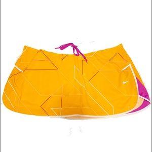 Nike Skort Orange. Sz XL